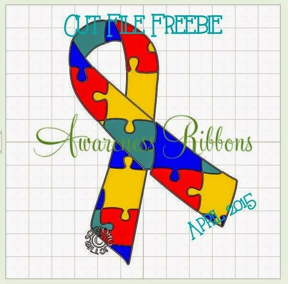 Awareness Ribbon # Cut File Freebie! Day 22 #MTC #SVG