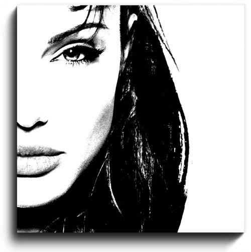 Blanco y negro cuadro personalizado original blanco y - Cuadro blanco y negro ...
