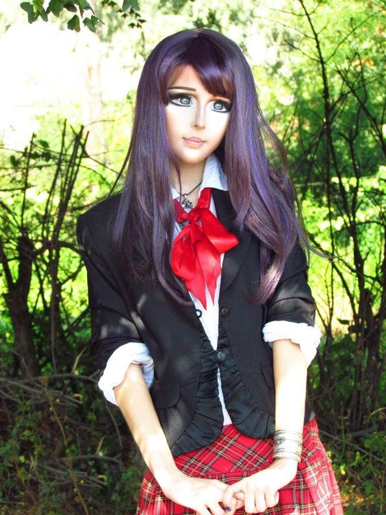40 Shocking Photos Of The Teenage Girl That Turned Herself Into A Real Life Anime Girl   Anastasiya Shpagina 12