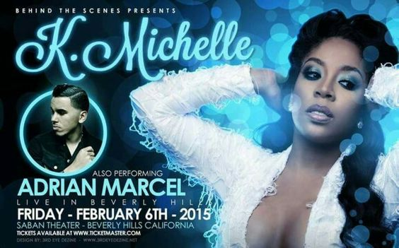 K Michelle poster