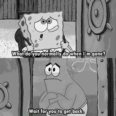 Aww Patrick.