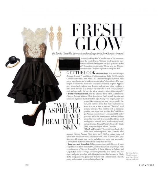 """""""Million Dollar Baby"""" by jordyroffe12 on Polyvore featuring Marchesa, Pomellato, Stephen Webster and Jimmy Choo"""