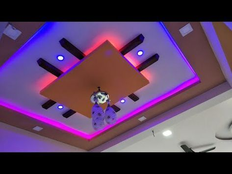 False Pop Gypsum Ceiling Designs Youtube Ceiling Design