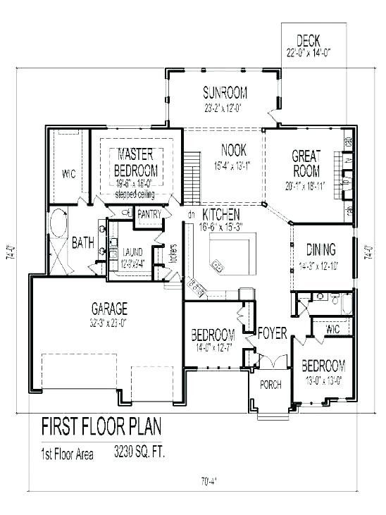 500 Review 13 Fresh Ranch House Plans With Sunroom Bungalow House Floor Plans Two Storey House Plans Garage Floor Plans