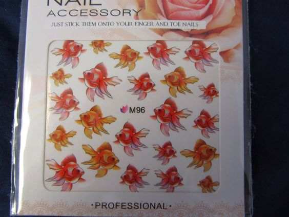 goldfish water decals - Google Search