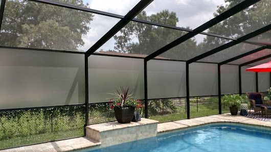 Privacy Screen For Pool Enclosure Patio Pictures Pool