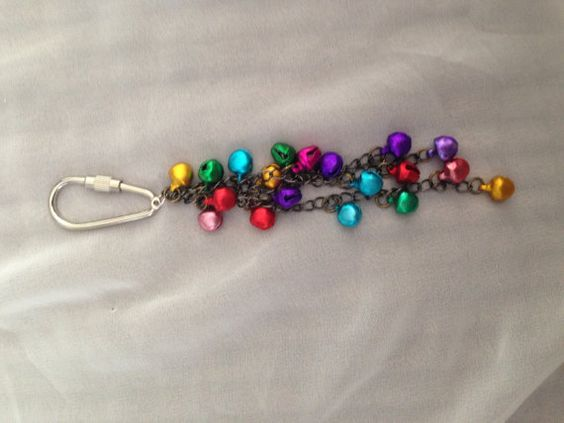Handbag Charm / Purse Bells / Key chain on Etsy, £4.95