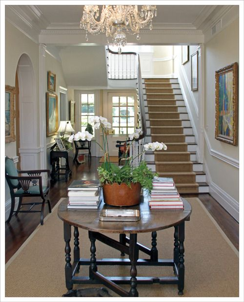 26 Best Round Entry Tables Images On Pinterest