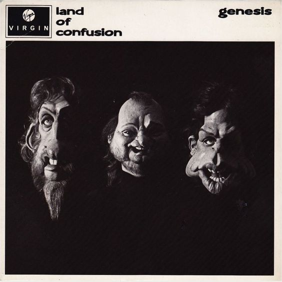 Genesis – Land of Confusion (single cover art)
