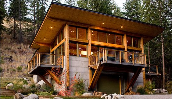 A cabin is not a shack industrial decks and new york for New york cabin