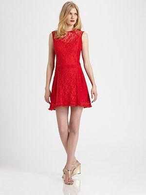 Nanette Lepore - Sunset Boulevard Shift Dress - Saks.com