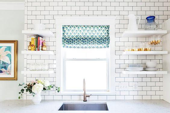 white subway tile #glitterguide