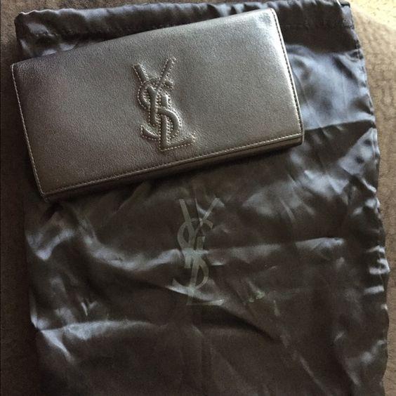ysl wallet sale