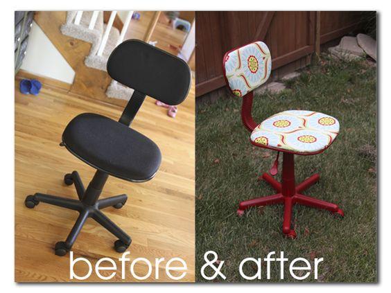 Sugar Bee Crafts: Craft Room Chair