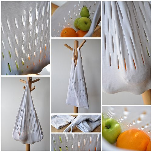 diy: super fast and easy grocery bag from a t-shirt