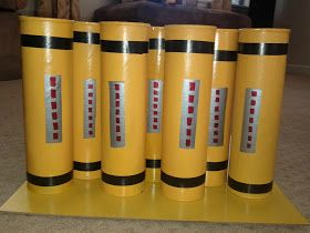 Scream canisters out of pringle cans i used some cans for Spray paint designs with tape