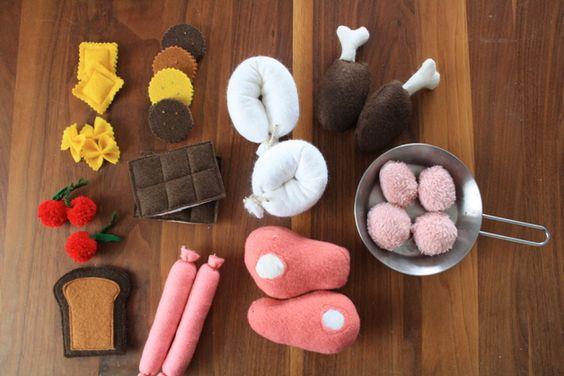 Kaufmannsladen & Küche - Kinderküche - ein Designerstück von Nadelstiche82 bei DaWanda