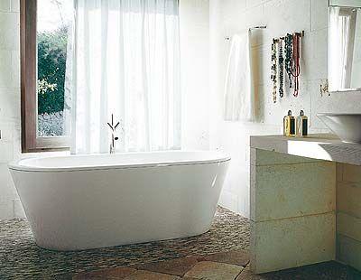 Un cuarto de baño cálido y romántico