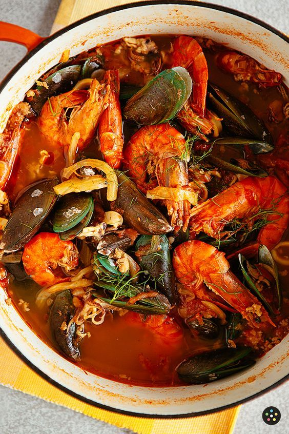 Spicy Seafood Stew Recipe In 2021 Seafood Soup Recipes Mixed Seafood Recipe Fish Stew Recipes