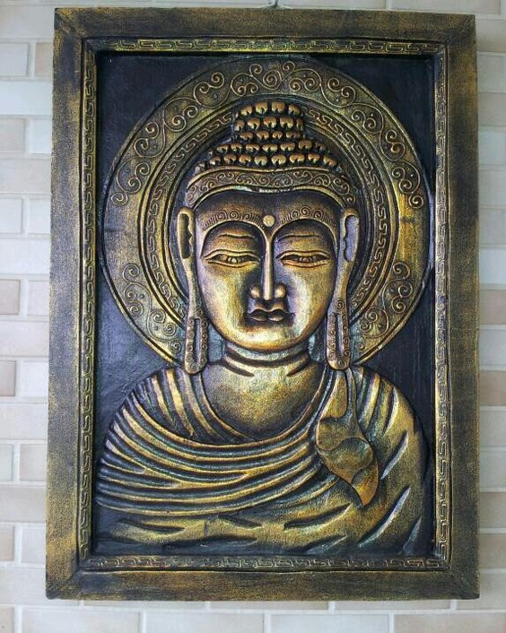 Quadro Buda #nossojardim