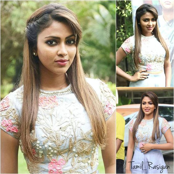 "Amala paul at 'Amma kanaku"" press meet..."