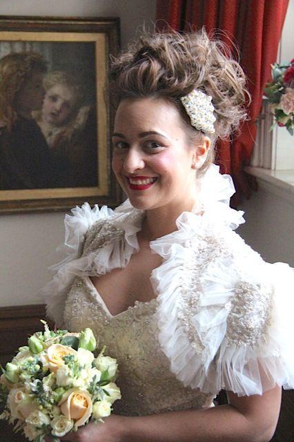 Model: Rebecca  Dress: Ian Stuart  Hair: Tuc Le Rojas  Flowers: Love From Katie  Acc: Tantrums & Tiaras    Just Gorgeous Hair