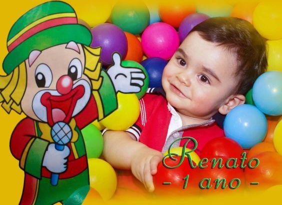 Aniversário de 1 ano de Renato, com tema do Patati Patatá Fotos, edição e montagem: Kátia Alessandra | F.: (11) 99384-0189
