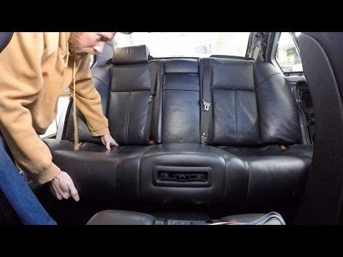 Bmw E38 740i Rear Seat Parcel Shelf Removal How To Youtube Bmw E38 Rear Seat Bmw