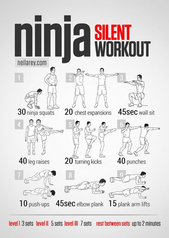 What it works: Quads, abs, core strength, lateral abs, lateral hip flexors, triceps, biceps, lower back. Main Focus: Lower body strength,...