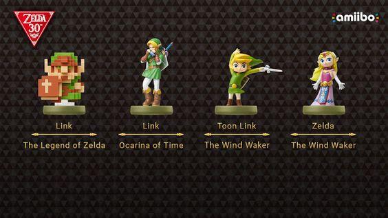 Nueva linea de Amiibos Zelda y Skyward Sword a la eShop
