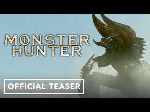 After Several Years Of Development The Public Finally Saw The First Footage Of The Film Adaptation Of Monster In 2020 Monster Hunter Movie Monster Hunter Movie Teaser