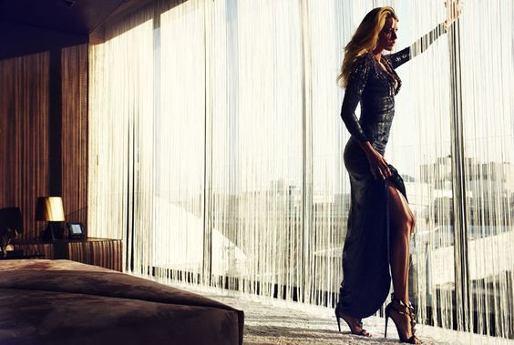 Blake Lively for Marie Claire, July 2012, by Txema Yeste.  Gimme those Zanotti's!