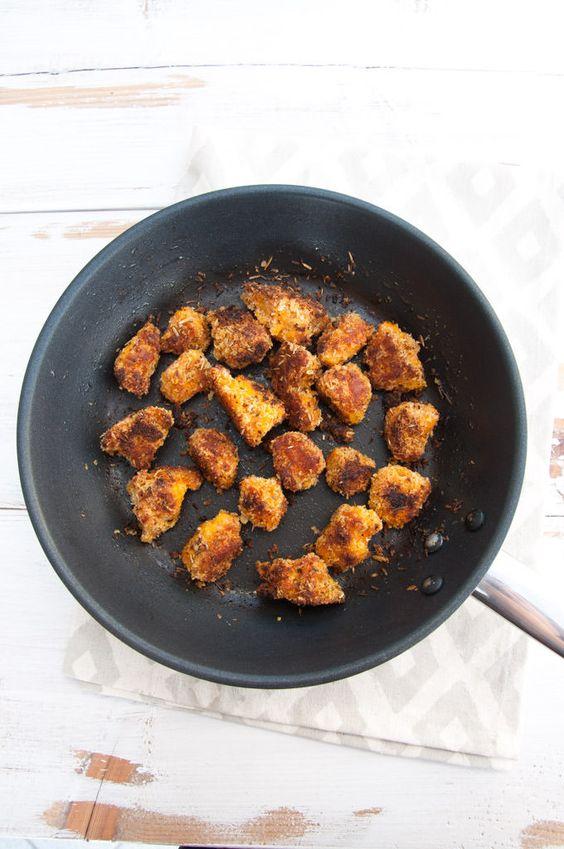 Vegan Pumpkin Nuggets |ElephantasticVegan.com: