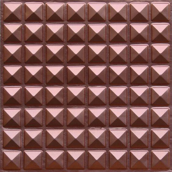 105 Copper Faux Tin Ceiling Tile | 2x2 | Glue up | PVC