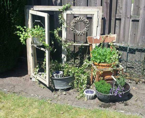 shabby chic garden garten pinterest gardens shabby. Black Bedroom Furniture Sets. Home Design Ideas