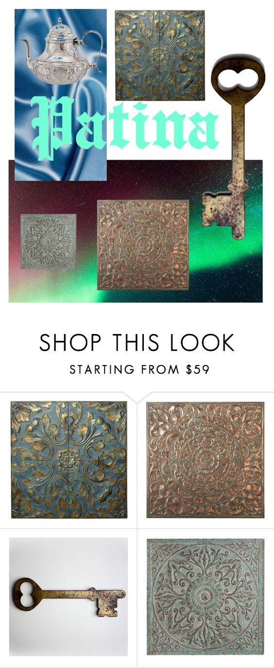 """""""Patina"""" by serrealdesigns ❤ liked on Polyvore featuring interior, interiors, interior design, home, home decor, interior decorating and Betteridge"""