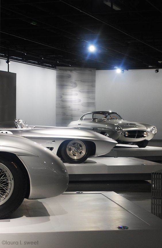 At the Petersen Museum, photo ©laura l. sweet