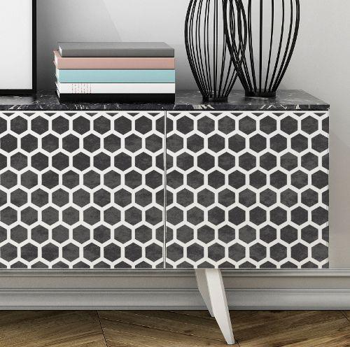 Image Result For Geometric Furniture Stencils Stencil Furniture Paint Dresser Diy Geometric Furniture