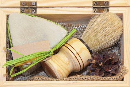 Seife selber machen: Rasierseife