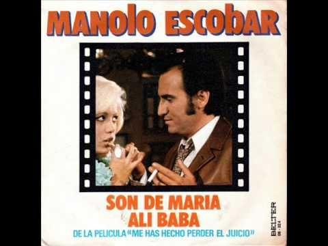 Manolo Escobar Son De María 1973 Manolo Escobar Youtube María