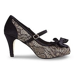 Joe Browns - Multi coloured stunning lace and velvet shoes