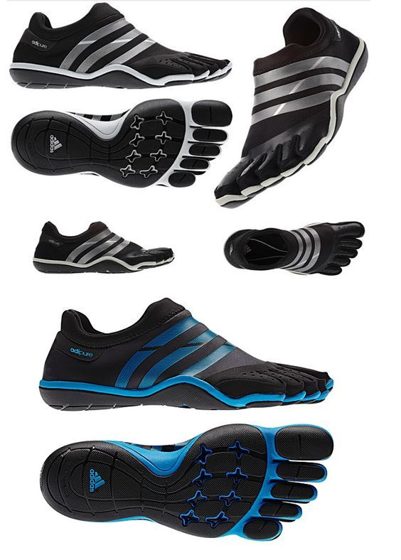 Adidas AdiPure | Finger shoes, Barefoot shoes, Sneakers men fashion