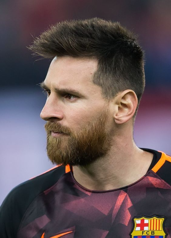 Messi Hairstyle Beard Style 2020 In 2020 Lionel Messi Haircut Lionel Messi Messi