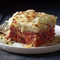 Meatloaf & Potato Pileup|  http://www.rachaelraymag.com/recipe/meatloaf-potato-pileup/