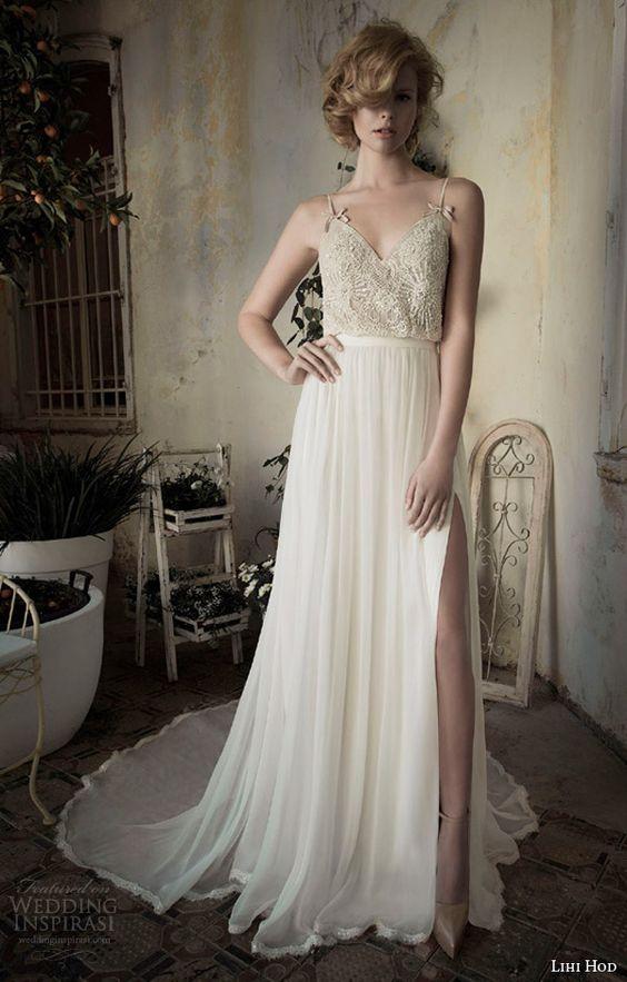 Lihi hod spring 2014 wedding dresses bijoux bridal for Lihi hod wedding dress for sale