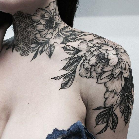 Tatuajes En El Cuello Para Mujeres Guatelinda