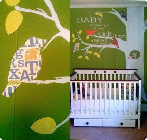 birdy wall tree: