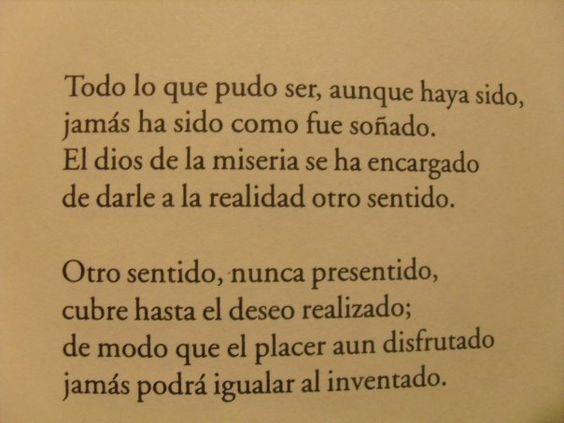 Fragment of a poem of Reinaldo Arenas