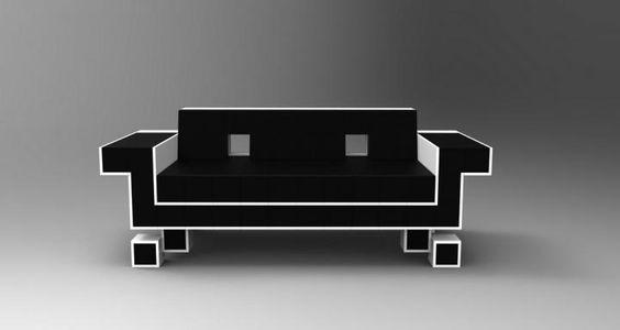 El sofá Retro Alien Couch está inspirado en el mítico juego Space Invaders. El sofá es una edición limitada, así que no tardes mucho si quieres ser uno de los pocos privilegiados que tenga en su poder este exclusivo sofá geek.