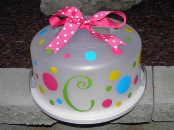 Design Your Own Cake Box : Cute - it looks like you buy the kit on Etsy to design ...